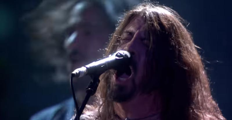 Foo Fighters totally rock the Brit Awards