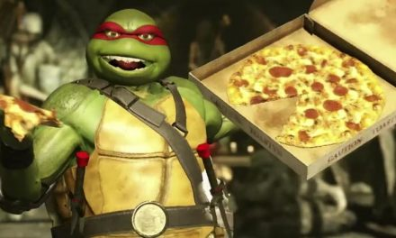 Get a pizza the TMNT action in Injustice 2