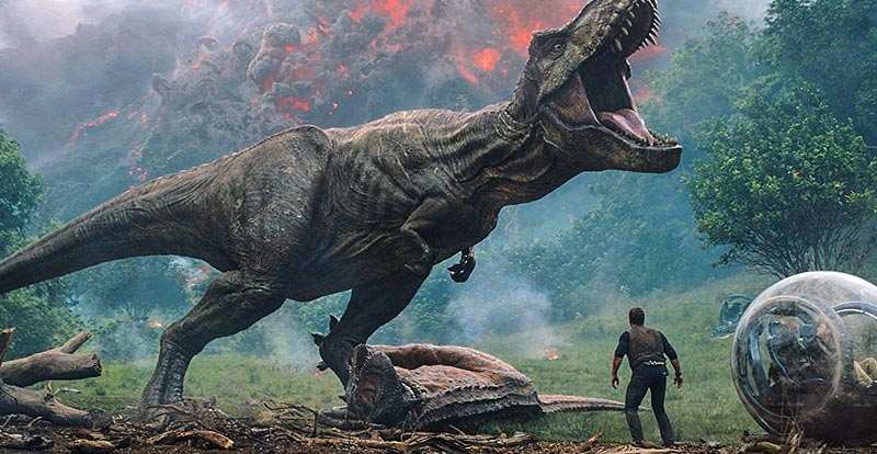 T. rex action – get it on with new Jurassic World Fallen Kingdom trailer