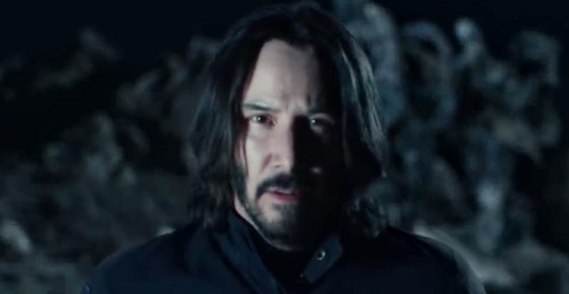 Keanu gets weird in extended Super Bowl ad