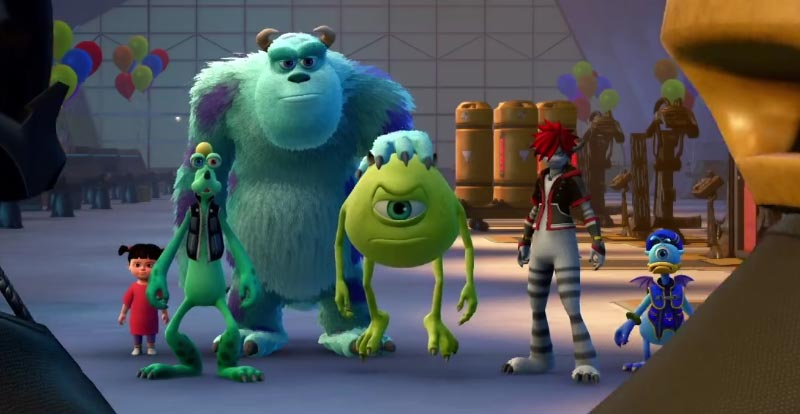 Kingdom Hearts III theme reveals Mike and Sully