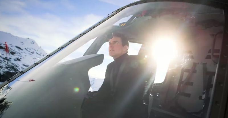 Copter load of this Mission: Impossible – Fallout heli stunt