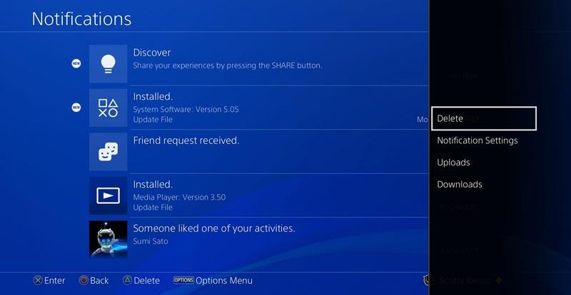 PS4 5.50 update