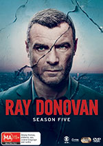 Ray Donovan: Season 5 DVD Cover