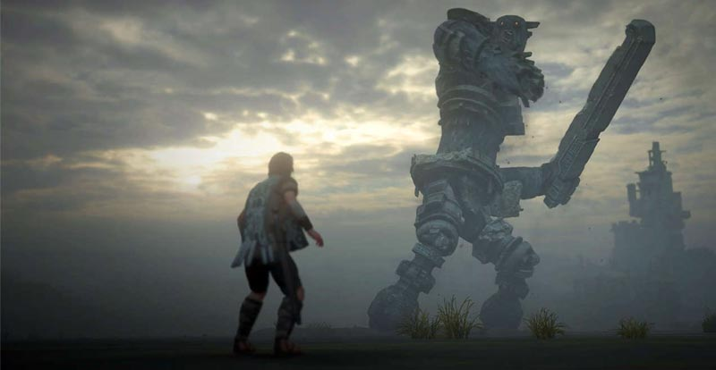 Crafting the Shadow of the Colossus giants