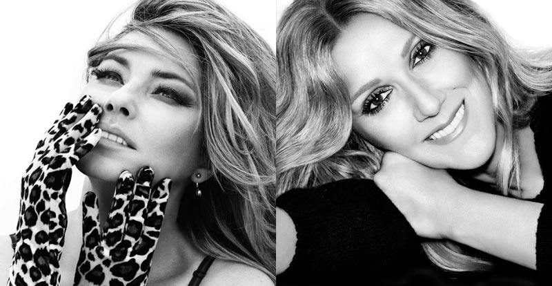 Shania vs Celine – two titans to tour