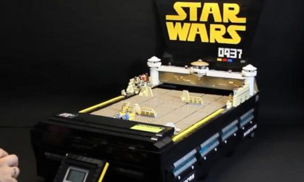 Clever person makes Star Wars game out of LEGO