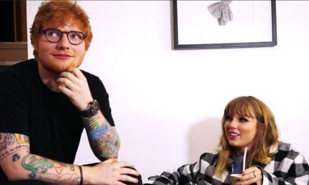 Behind the scenes on Ed 'n' TayTay's 'End Game'