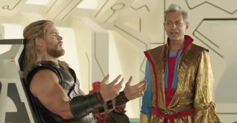 More Goldblum goodness in sparkly Thor: Ragnarok deleted scene