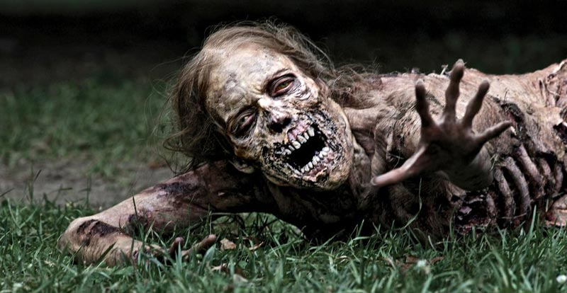 The Walking Dead to get its kit off