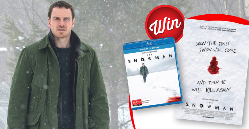 Win a Snowman poster, signed by Michael Fassbender, Rebecca Ferguson and Tomas Alfredson
