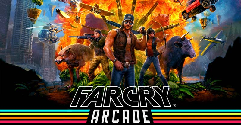 Get ready to hit the Far Cry 5 arcade