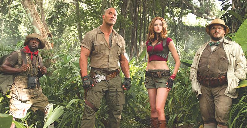 Jumanji: Welcome to the Jungle on DVD, Blu-ray, 3D & 4K April 11