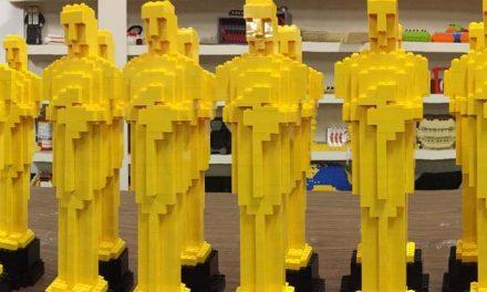 Oscars 2021 – make your own LEGO Oscar!