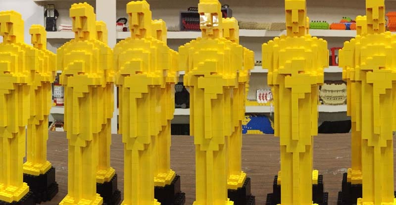 Oscars 2019 – make your own LEGO Oscar!
