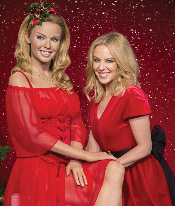 Kylie Minogue Mdme Tussauds