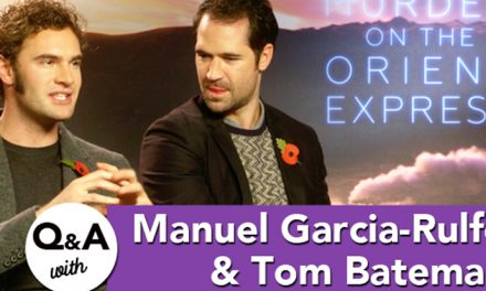 Q&A with Manuel Garcia-Rulfo & Tom Bateman – Murder on the Orient Express