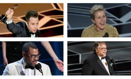 Oscars 2018 – the 10 best bits