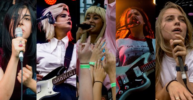 The girls from the pool say 'Hi' – Pool House Party live review