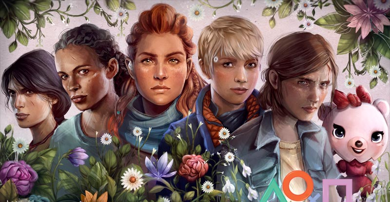 PlayStation says yay for International Women's Day