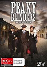 Peaky Blinders: Season 4 DVD cover