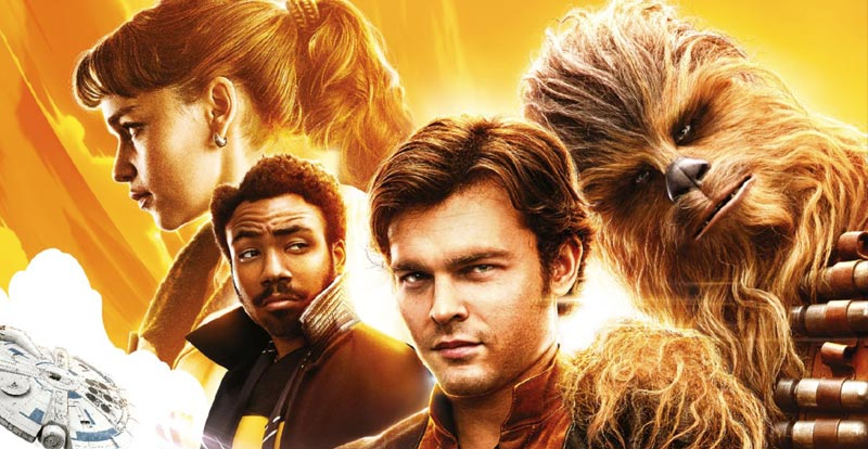 Lo and behold – a new set of Solo: A Star Wars Story posters