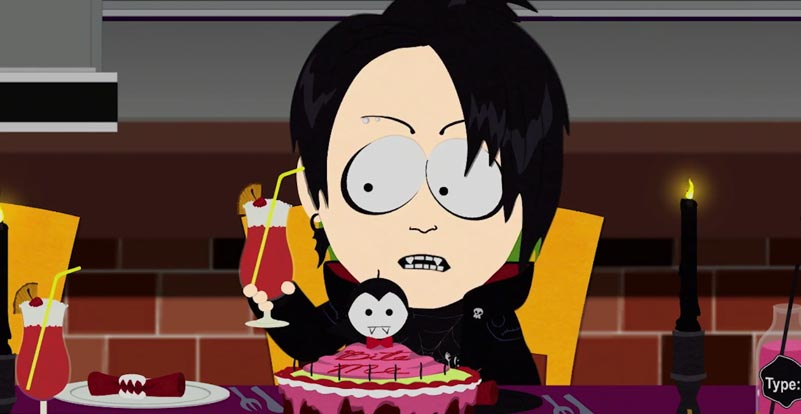South Park: The Fractured But Whole goes goth!