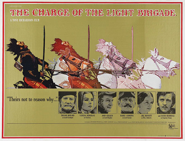 The Charge of teh Light Brigade Movie Poster