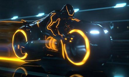 LEGO Tron Legacy light cycles are a thing