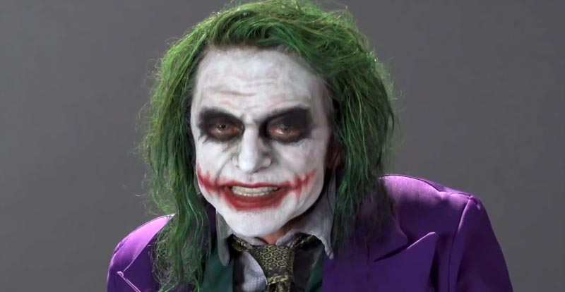 Look who wants to be The Joker!