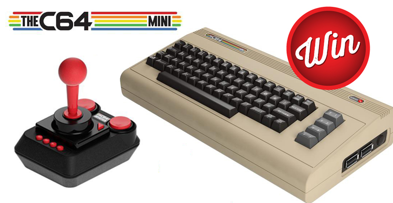 TheC64 Mini up for grabs!