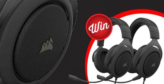 Win a Corsair gaming headset!