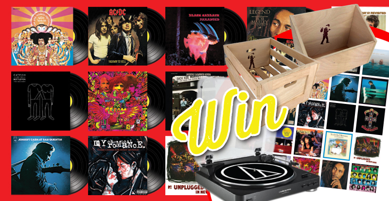 Sign-up and spin right round with this epic Vinyl Countdown giveaway