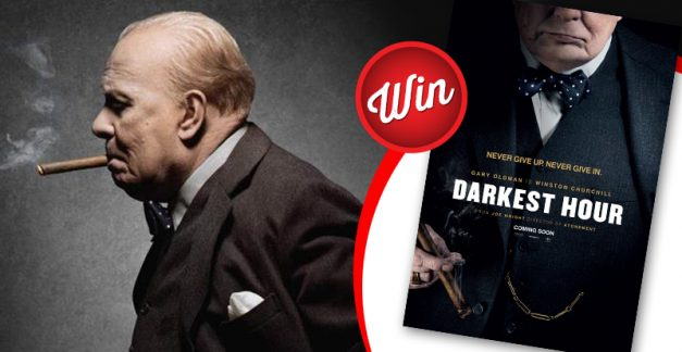 Win: Signed Darkest Hour movie poster and Blu-rays