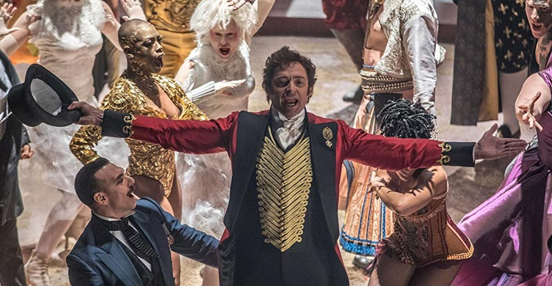 Pop stars roll up for The Greatest Showman