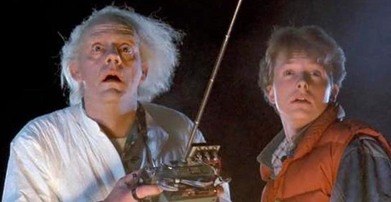 Great Scott! Doc and Marty get square