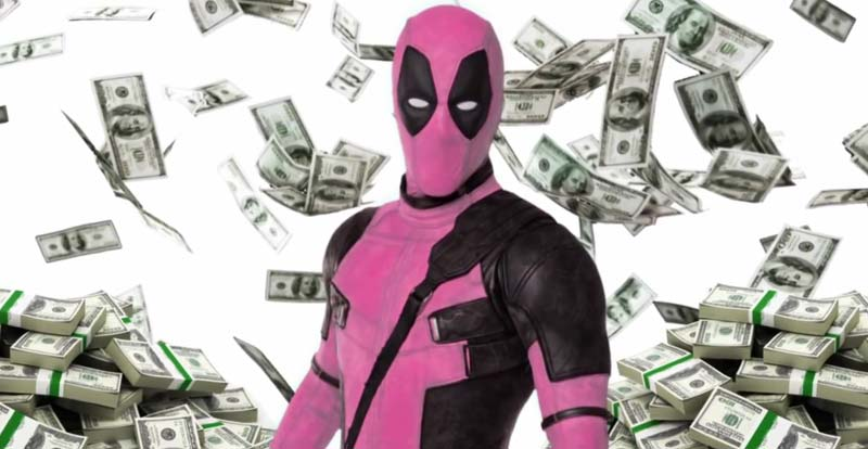 Deadpool gets in the pink to fight cancer