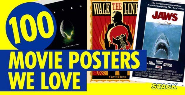 100 movie posters we love