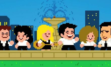 """I'll be square for you"" – Friends in 8-bit"