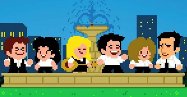 """""""I'll be square for you"""" – Friends in 8-bit"""