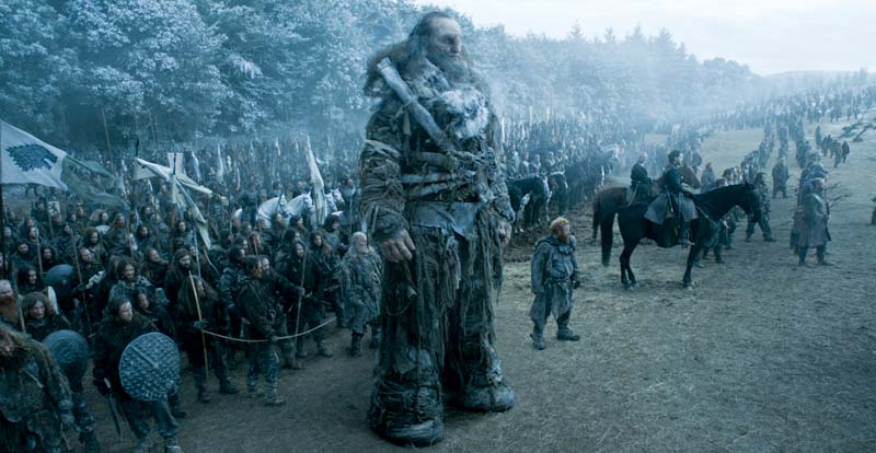 Game of Thrones films biggest battle ever