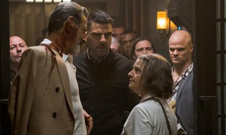 Checking in with the Hotel Artemis trailer