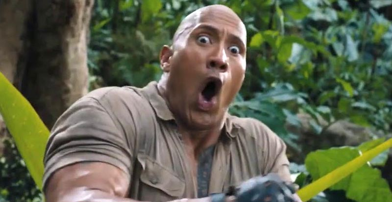 The Rock takes down Spider-Man, announces Jumanji sequel