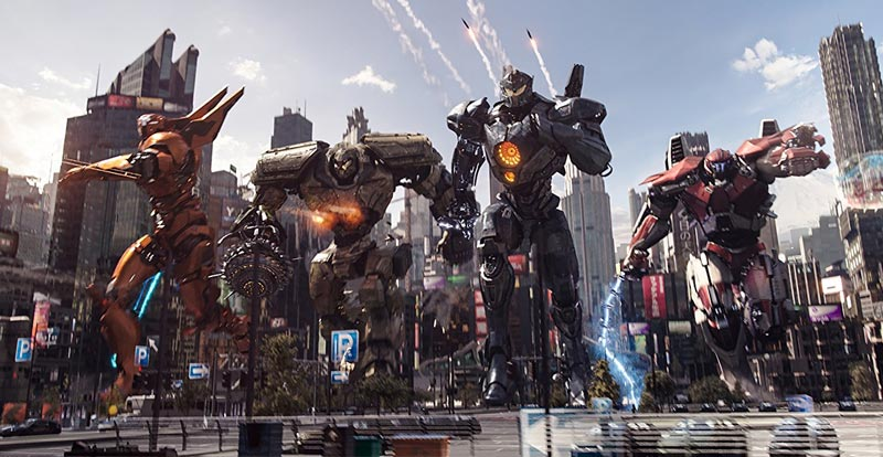 Take Jaegers home when Pacific Rim Uprising hits in July