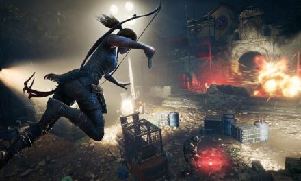 Shadow of the Tomb Raider trailer drops – and jumps, and stabs, and…
