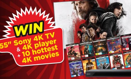 "STACK member competition: 55"" Sony 4K TV, 4K player & 10 hottest 4K movies!"