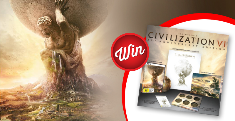 Sid Meier's Civilization VI PC giveaway