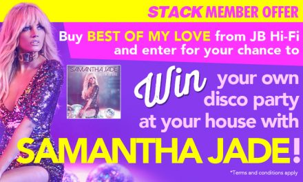 Win your own disco party at your house with Samantha Jade!