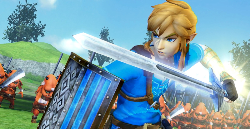 Hyrule Warriors Definitive Edition hitting Switch next month
