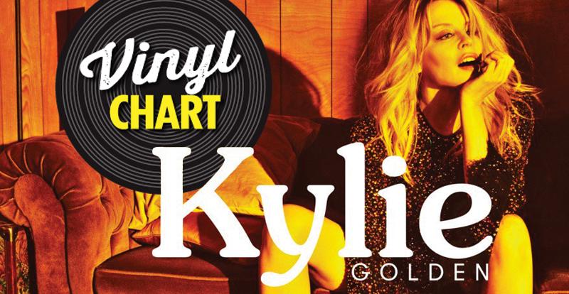 JB's vinyl chart (April 6 – 12, 2018)